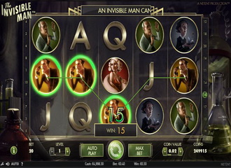 Net Entertainment Releases The Invisible Man Slot