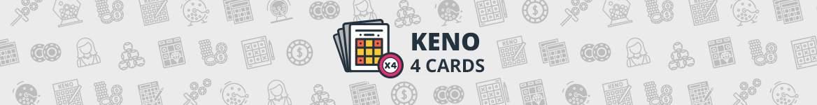 Online 4 Card Keno