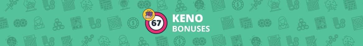 Keno Bonuses