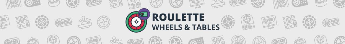 Roulette Wheels and table