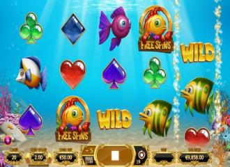 Online slot review golden fish tank by yggdrasil for Big fish casino best paying slot