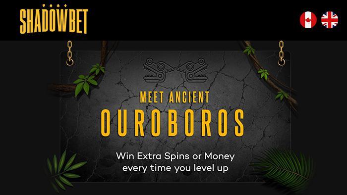 ShadowBet's 'Ouroboros' Exclusive Bonus Casino Slot - Members Only!