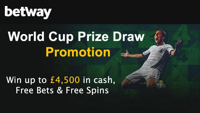 Betway World Cup Prize Draw