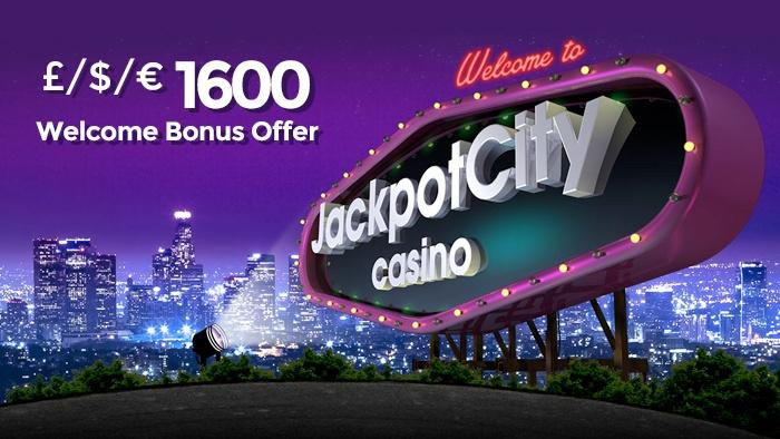 JackpotCity Casino – Get a BIG £/$/€1600 Welcome Today!