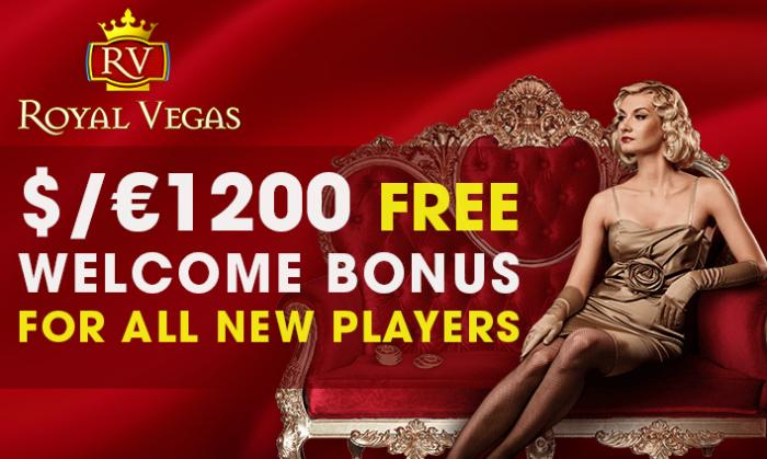 Royal Vegas online casino offer players a luxurious welcome!