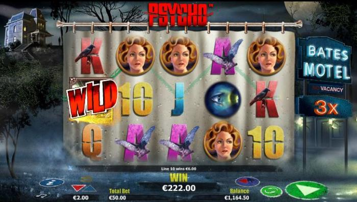 psycho online slot game preview